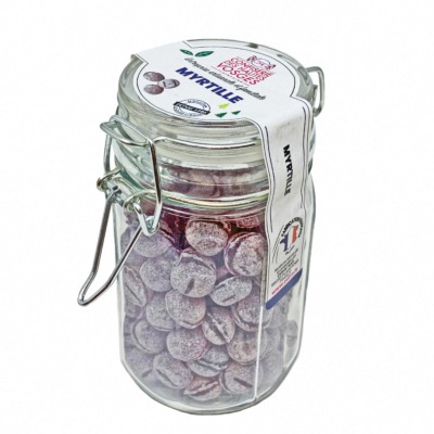 Bocal bonbon Myrtilles 135 g